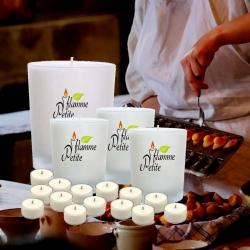 Pack de 5 bougies parfumées GOURMANDISES en CUISINE