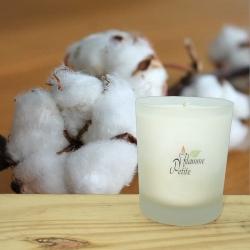 Grande Bougie Parfumée FLEUR de COTON