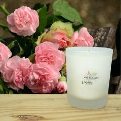 Grande Bougie Parfumée ROSE D'ANTAN
