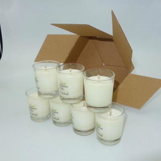 Minis Bougies Non parfumées