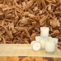 Minis Bougies Parfumées au BOIS de SANTAL