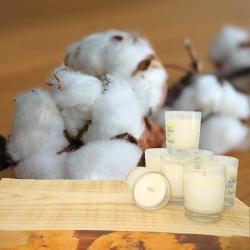 Minis Bougies Parfumées FLEUR de COTON