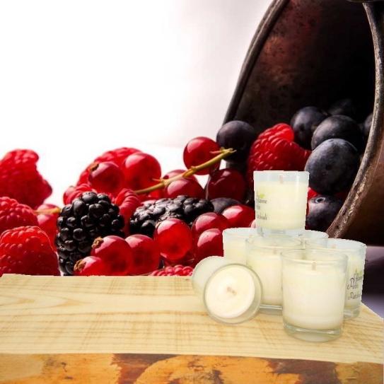 Bougie aux FRUITS ROUGES