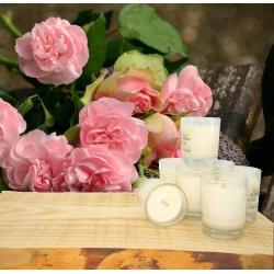 Minis Bougies Parfumées ROSE D'ANTAN