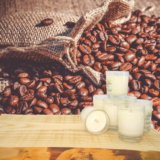 Minis Bougies Parfumées café