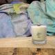 Bougie Mèche Bois Parfumée Cachemire et Soie