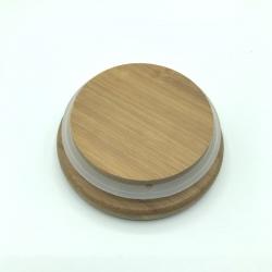 Couvercle en bois de bambou