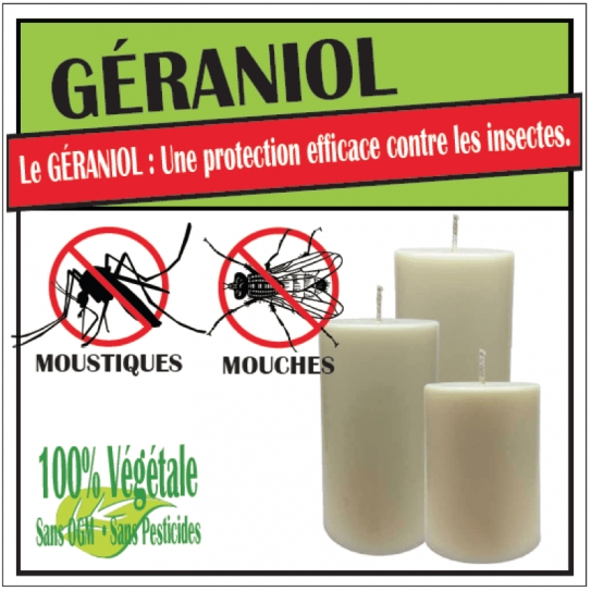Piliers Parfumés GÉRANIOL